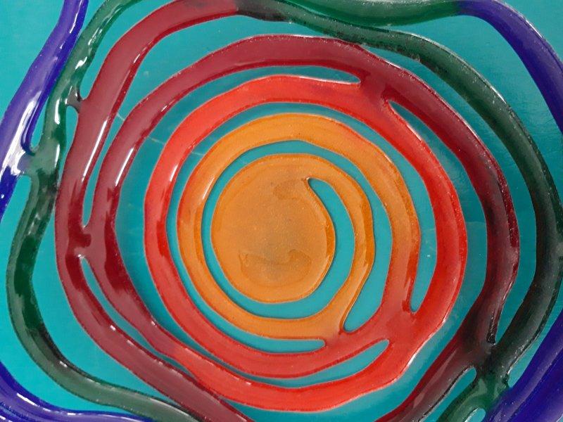 Schaal 'Multi Colour'